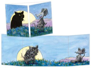 Carte postale Terreur au clair de lune