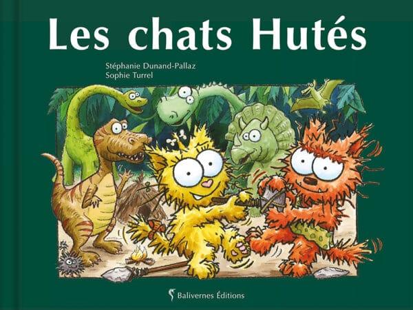 livre Les chats Hutés