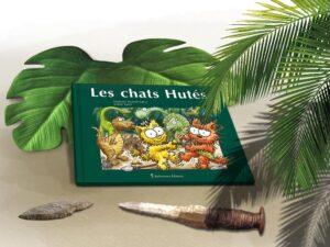Album Les chats Hutés livre mis en scène